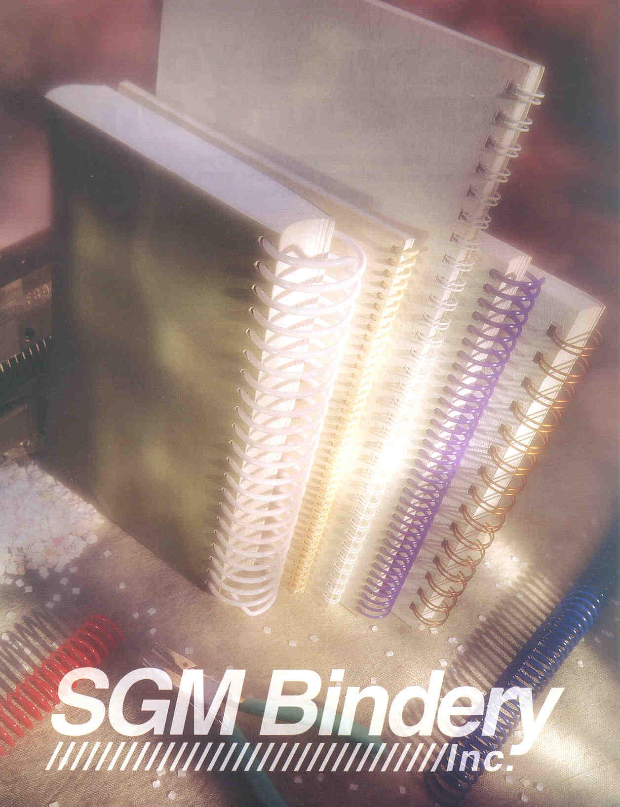 Welcome to SGM Bindery, Inc.