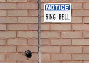 Don't forget to ring bell for service.